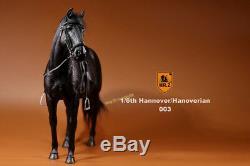 M. Z Allemagne Hanovre Hanovrien Noir Cheval 1/6 Échelle Modèle Figure Pré-commande