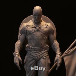 Main Avengers 4 Captain America 1/6 Modèle Statue Jouet Figurine Résine En Stock