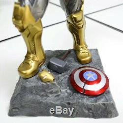 Marvel La Guerre Avengersinfinity 14 '' Thanos Statue Résine D'action Figure Modèle
