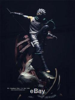 Mh Studio Naruto Kakashi Hatake Figure Résine Modèle Painted Statue En Stock 1/7