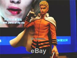 Mh Studio Naruto Uzumaki Naruto Figure Modèle En Résine Peinte Statue En Stock Gk