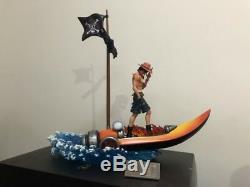 Mobius One Piece Portgasd Ace Sculpture Figure Modèle En Résine Statue