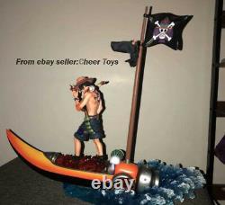 Mobius Portgasd Ace Gk One Piece Sculpture Figure Model Resin En Stock