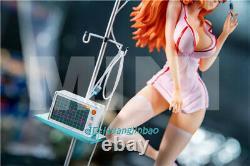 Modèle De Résine De Nami D'une Pièce Dans L'uniforme D'infirmière Figure Sexy Peinte Mini Studio Gk