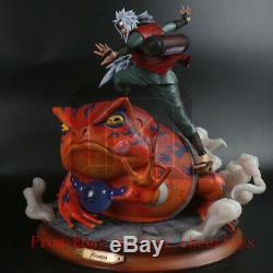 Modèle Palais Studio Naruto Jiraiya Figures Gama Sennin Résine Statue Limitée