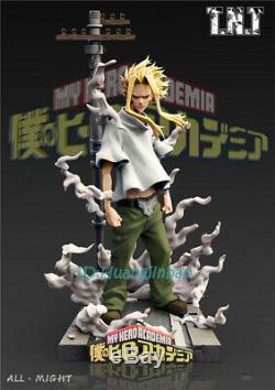My Hero Academia Allmight Figure Modèle Painted 1/6 En Stock Statue Échelle Anime