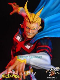 My Hero Academia Allmight Figure Modèle Painted 1/6 Statue Ninetails En Stock Gk