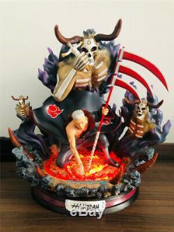 Naruto Akatsuki Hidan Modèle En Résine Statue Gk Led Lumière Mort Figure DM Studio Hot