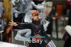 Naruto Douleur Tendo Deva Chemin Peinte Modèle 1/7 Statue Résine Figure En Stock