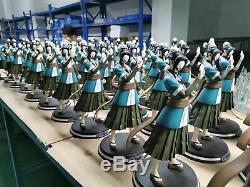 Naruto Haku Glace Strom Figure Modèle Resine Sculpture 1/5 Échelle En Stock