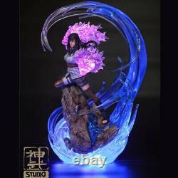 Naruto Hyga Hinata 1/7 Figure En Résine Avec La Statue De Lumière Led Peint Modèle Nouveau