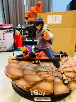 Naruto Hyga Hinata Figure Résine Modèle Painted Uzumaki Naruto Statue En Stock Gk