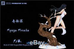 Naruto Hyga Hinata Figure Résine Modèle Peint Anime Sexy Girl Statue Pré-commande