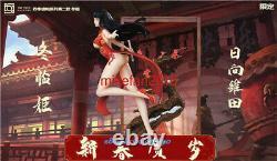 Naruto Hyga Hinata Resin Figure Model Painted Anime Sexy Girl Statue Pré-commande