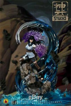 Naruto Hyga Hinata Statue Figure Résine Gk Gk Modèle Shenwu Sw Nouveau Studio