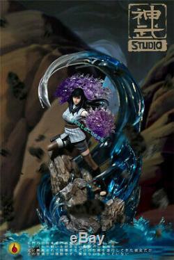 Naruto Hyga Hinata Statue Figure Résine Gk Gk Modèle Shenwu Sw Studio Pré-commande
