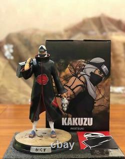 Naruto Kakuzu Figure 1/8 Modèle De Résine Peinte À L'échelle Statue Akatsuki Refondue Foc