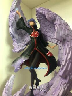 Naruto Konan Figure Modèle Painted Statue 1/8 En Studio Stock Clouds Replica