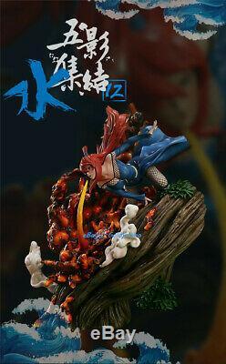 Naruto Mizukage Terumi Mei Figure Résine Statue Modèle Peint Iz Studio Pré-commande