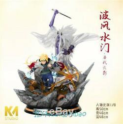Naruto Namikaze Minato Figure Résine Modèle Painted Statue Km Gk Studio