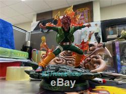 Naruto Pourrait-guy Résine Figure Modèle Peint Statue De Dragon Studio Led Lumière 1/7