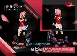 Naruto Sakura Haruno Figure Résine Modèle Painted Statue Hb-studio 1/6 Échelle Anime
