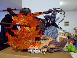 Naruto Sarutobi Hiruzen Modèle Statue Painted Figure En Stock Km Anime Studio De Gk