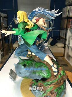 Naruto Tsunade Statue Résine Modèle Peint Figure Super Big Boobs Ucs En Stock Gk