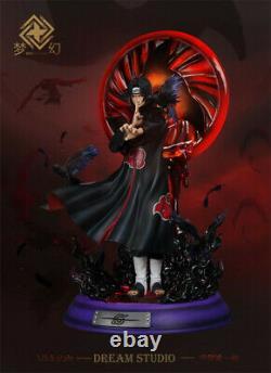 Naruto Uchiha Itachi Dream Studio Statue Figure Résine Modèle Gk 1/5 43cm Nouveau