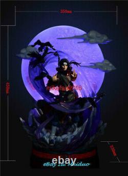 Naruto Uchiha Itachi Statue Figure Resin Model Gk Night Wolf Studios Nouveau