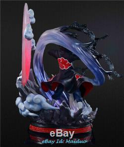Naruto Uchiha Itachi Statue Figurine En Résine Modèle Gk Nuit Studios Loup Prévente