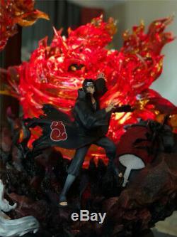 Naruto Uchiha Itachi Statue Figurine En Résine Modèle Gk Waves Original Studio Nouveau