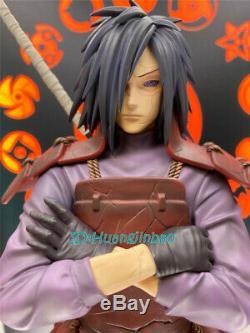 Naruto Uchiha Madara Résine Figure M. H Studio En Stock 1/7 Échelle 34cm / 13 '' Modèle