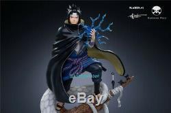 Naruto Uchiha Sasuke Scale Figure Résine 1/7 Modèle Painted Led Light In Stock Gk