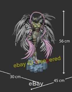 Noah Studio Digimon Angewomon Yagami Hikari Gk Statue Modèle Painted Figure