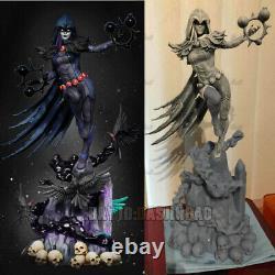 Non Peint 1/6 42cm H Raven Witch Female Resin Figure Unassembled 3d Print Model