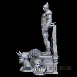 Non Peint 30cm H Batman Resin 3d Print Model Figure Model Kit Unassembled Gk