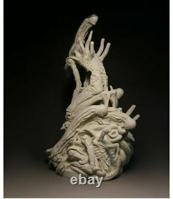 Nouveau 250175350mm Resin Figure Model Kit Bust Alien Queen Unpainted Unassambled