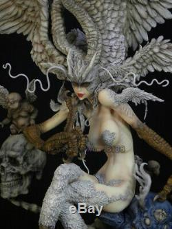 Nouveau Unpainted Résine Diable Man Modèle Figure Unassembled Garage Kits Statue
