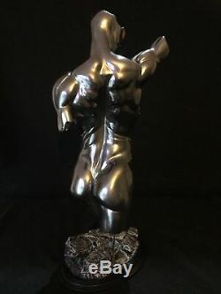 Nu Érotique Homme Statue Torse Jaydee Modèles Sculpture Jonathan Dewar