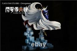 Omegamon Statue Resin Figure Digimon Monstre Modèle Gk 30cm Prévente