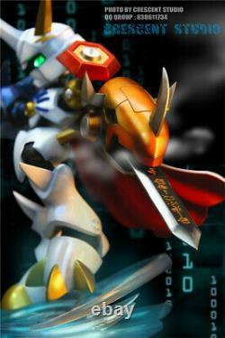 Omegamon Statue Resin Figure Digimon Monstre Modèle Gk Crescent-studio Nouveau
