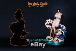 One Piece Boa Hancock Résine Figure Modèle Peint Statue Précommande Hot Body Studio