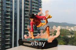 One Piece Monkey D. Luffy Resin Model Gear Second Painted Figure Model Palace