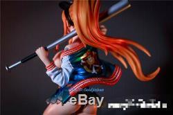 One Piece Nami Figure Résine Modèle Costume Fashion Peint Baseball 1/6 Défroque Hot