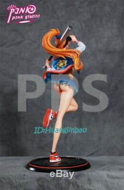 One Piece Nami Figure Résine Modèle Costume Fashion Peint Baseball 1/6 En Stock Nouveau