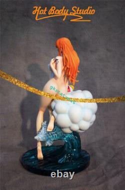 One Piece Nami Resin Figure Model Painted Statue Pré-commande Hot Body Cast Off Gk