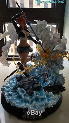 One Piece Nami Résine Modèle Gk Peint Pop Anime Figure Le Chapeau De Paille Pirates Hot
