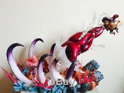 One Piece Sculpture Figure Modèle En Résine Statue Pop Mingo Donquixote Doflamingo