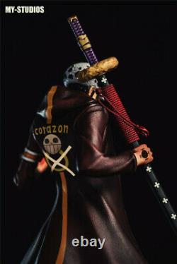 One Piece Trafalgar Law My Studio Statue Resin Figure Gk Model Presale 41cm 1/6
